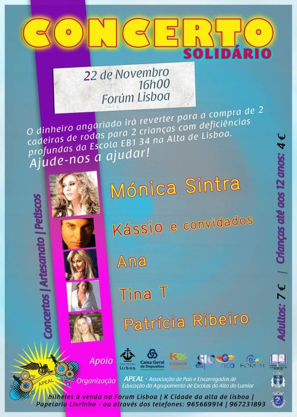 Flyer Concerto Solidário