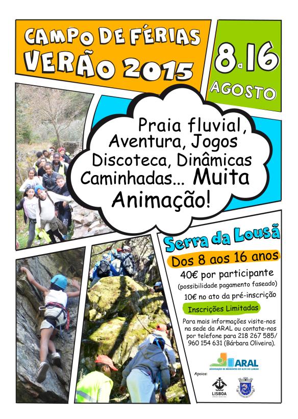 Campo Férias Verão 2015